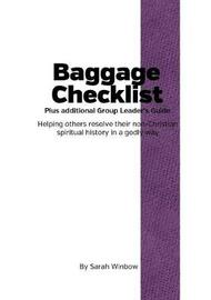 Baggage Checklist Group Leaders Guide by Sarah Winbow