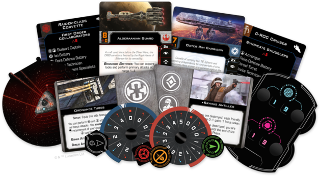 Star Wars X Wing 2nd Edition Huge Ship Conversion Kit
