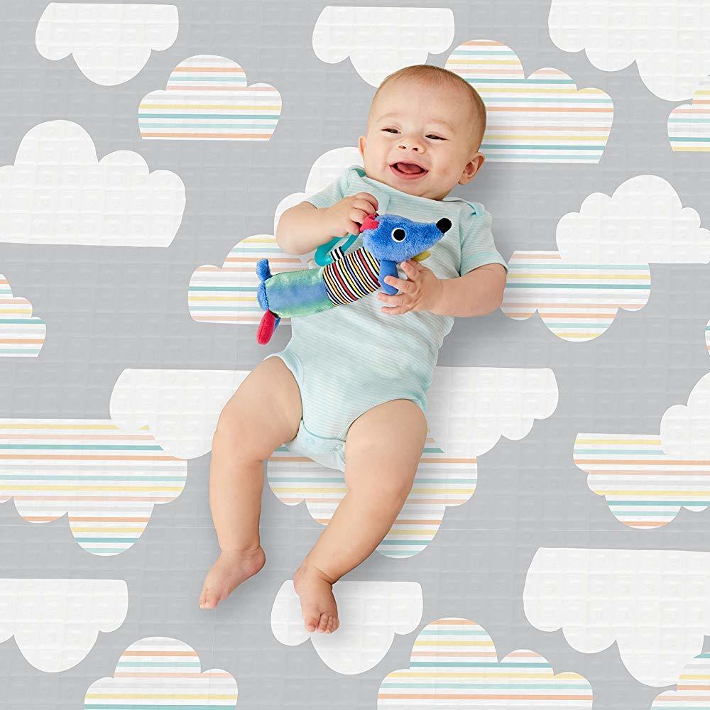 Skip Hop: Doubleplay Reversible Playmat - Clouds image