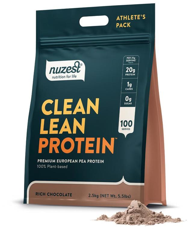 Nuzest Clean Lean Protein Powder - Rich Chocolate (2.5kg)