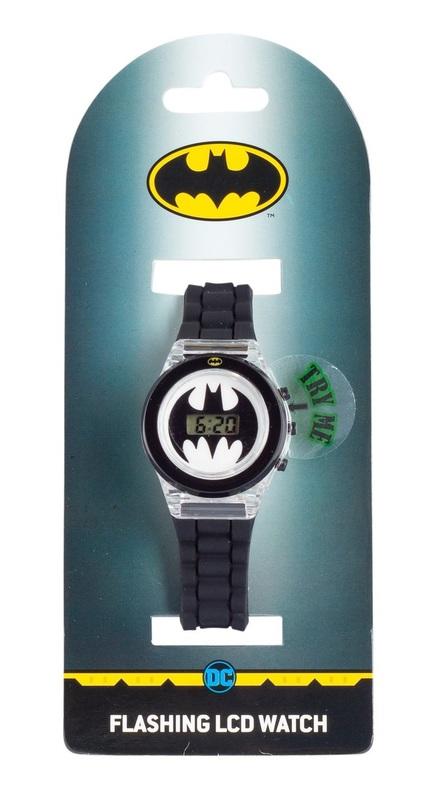 Batman Light Up LCD Watch