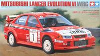 Tamiya Mitsubishi Lancer Evolution VI WRC 1:24 Kitset Model image
