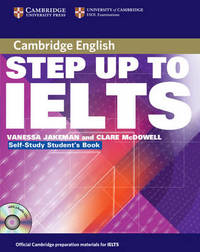 Step Up to IELTS Self-study Pack by Clare McDowell image