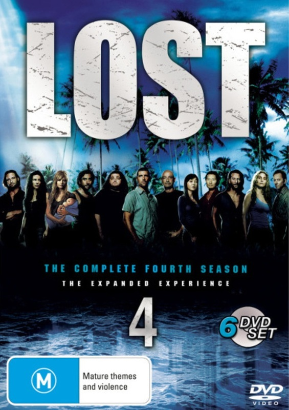 Lost - The Complete 4th Season: The Expanded Experience (6 Disc Set) on DVD