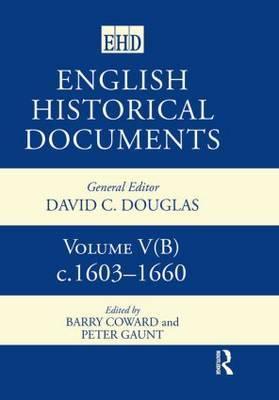English Historical Documents, 1603-1660 image