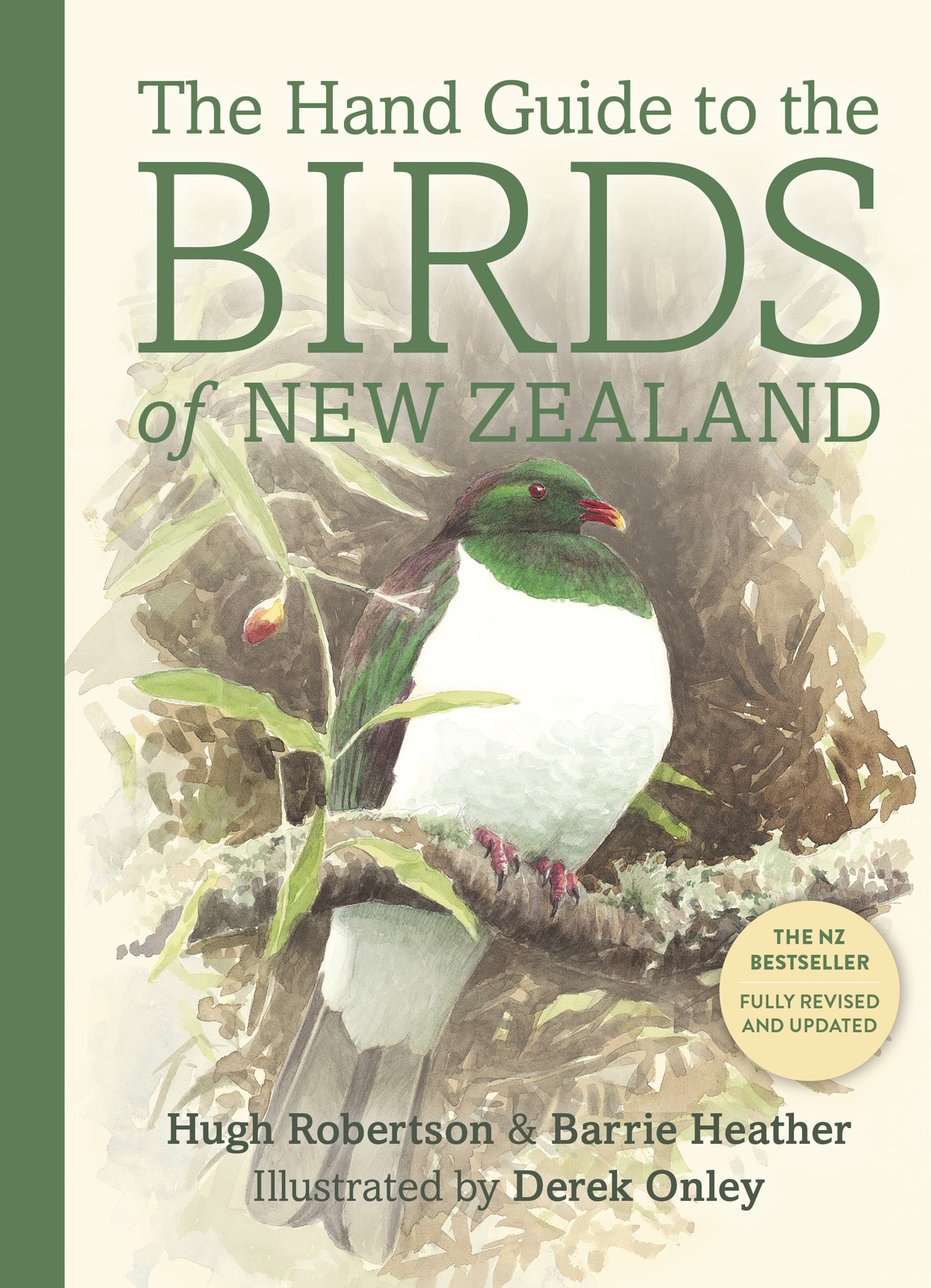 The Hand Guide To The Birds Of New Zealand by Barrie Heather image
