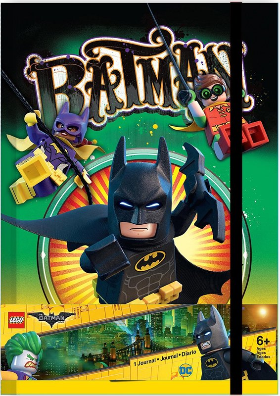 The LEGO Batman Movie: Themed Hardback Journal - Batman