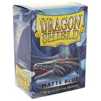 Dragon Shield Matte Blue Card Sleeves image