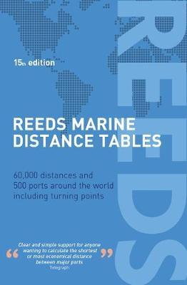 Reeds Marine Distance Tables 15th edition by Miranda Delmar-Morgan image