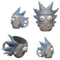 Rick and Morty: Rick Sanchez - Molded Mug