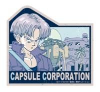 Dragon Ball Z: Travel Luggage Sticker - Capsule Corporation #5 image