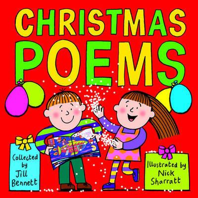 Christmas Poems by Jill Bennett image