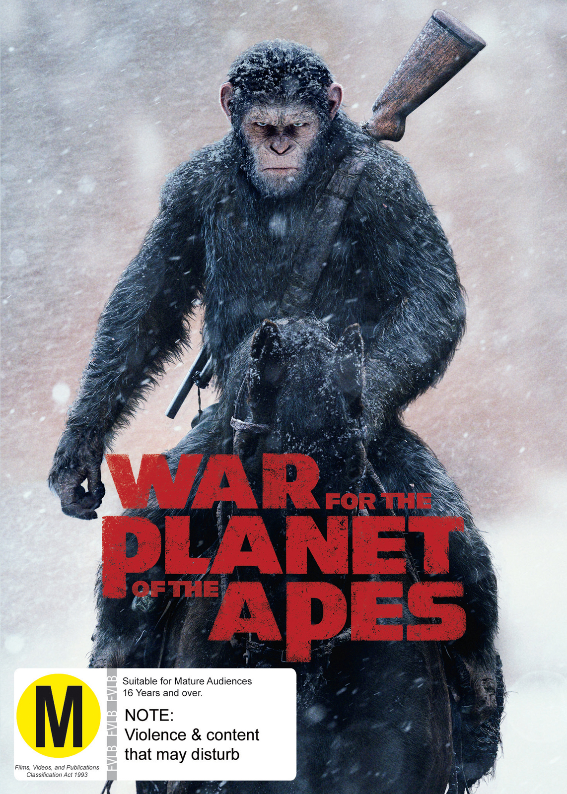 War for the Planet of the Apes on DVD image