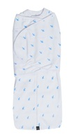 Mum 2 Mum: DreamSwaddle (Large) - Blue Criss-Cross