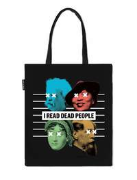 Out of Print: I Read Dead People - Tote Bag
