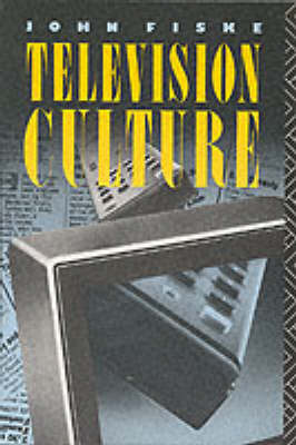Television Culture by John Fiske image