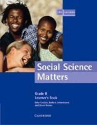Social Science Matters Grade 8 Learner's Book by Erika Coetzee image