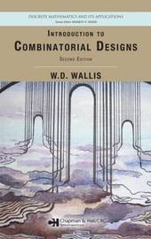 Introduction to Combinatorial Designs by W.D. Wallis image