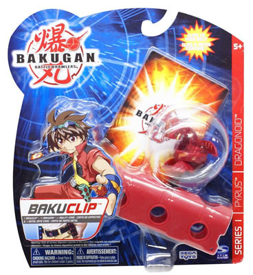Bakugan Bakuclip Red