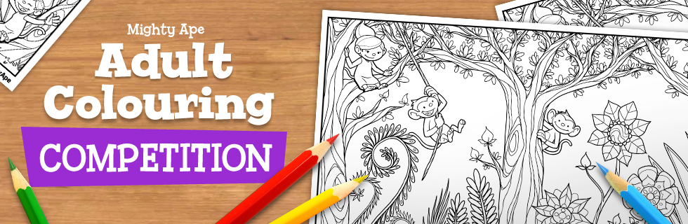 Mighty Ape Adult Colouring Competition! at Mighty Ape NZ