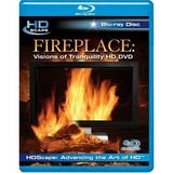 Fireplace: Visions Of Tranquility on Blu-ray