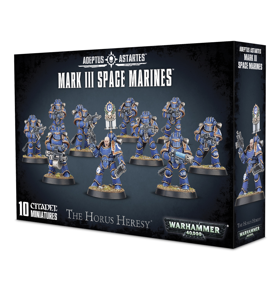Horus Heresy: Mark III Space Marines image