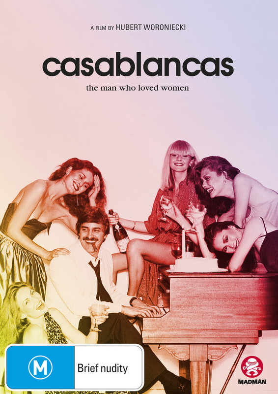 Casablancas: The Man Who Loved Women on DVD