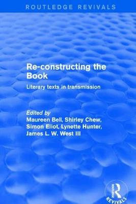 Re-Constructing the Book by Maureen Bell image