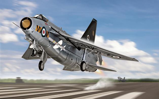 Corgi: 1/48 Lightning F6 - Diecast Model