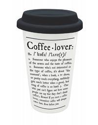 Legami Travel Mug - Coffee Lover