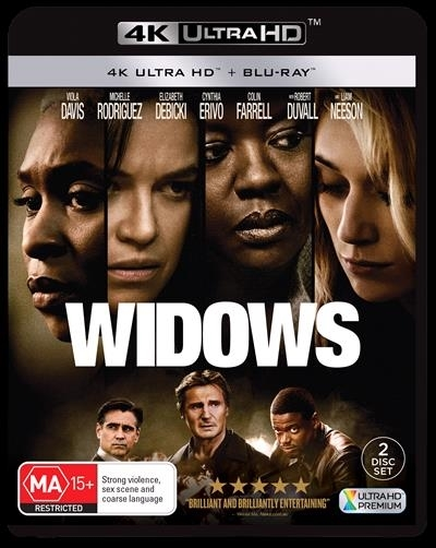 Widows on UHD Blu-ray