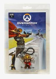Overwatch McCree Comic Book and Backpack Hanger by Robert Brooks