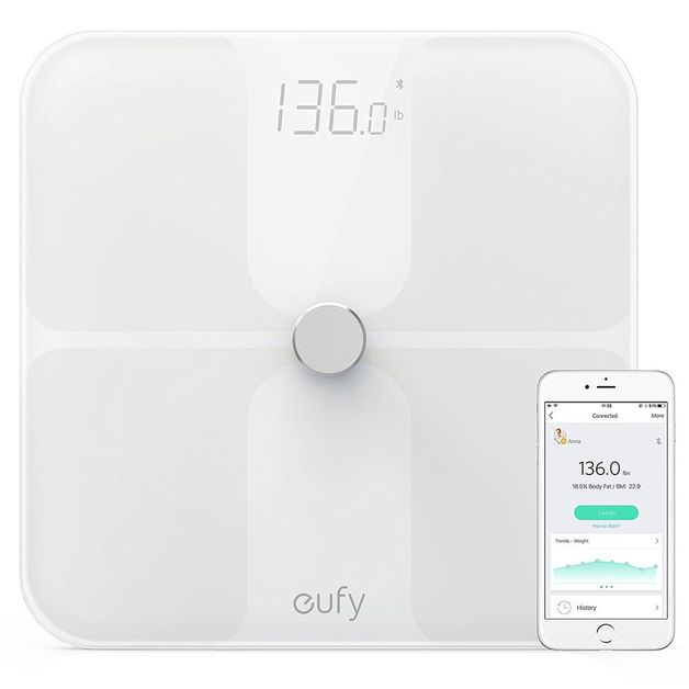 eufy: Smart Fitness Scale Premium - White