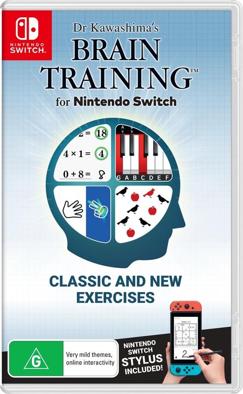 Dr Kawashima's Brain Training for Nintendo Switch for Switch