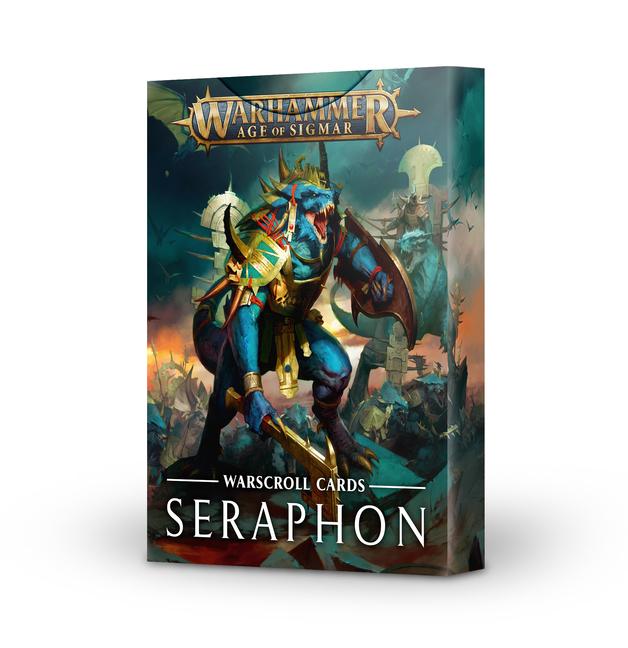 Warhammer Age of Sigmar Warscroll Cards: Seraphon