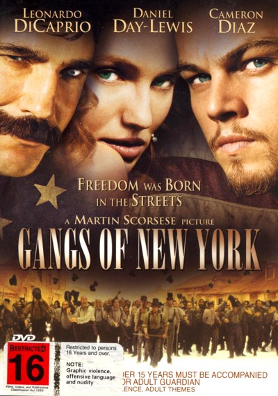 Gangs Of New York on DVD image