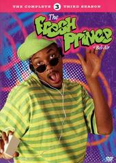Fresh Prince Of Bel-Air, The - Complete Season 3 (4 Disc Set) on DVD