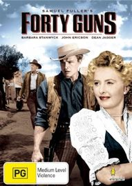 Forty Guns on DVD image