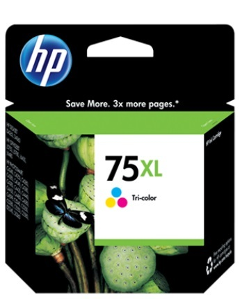 HP 75XL Inkjet Print Cartridge CB338WA (Tri Colour) image