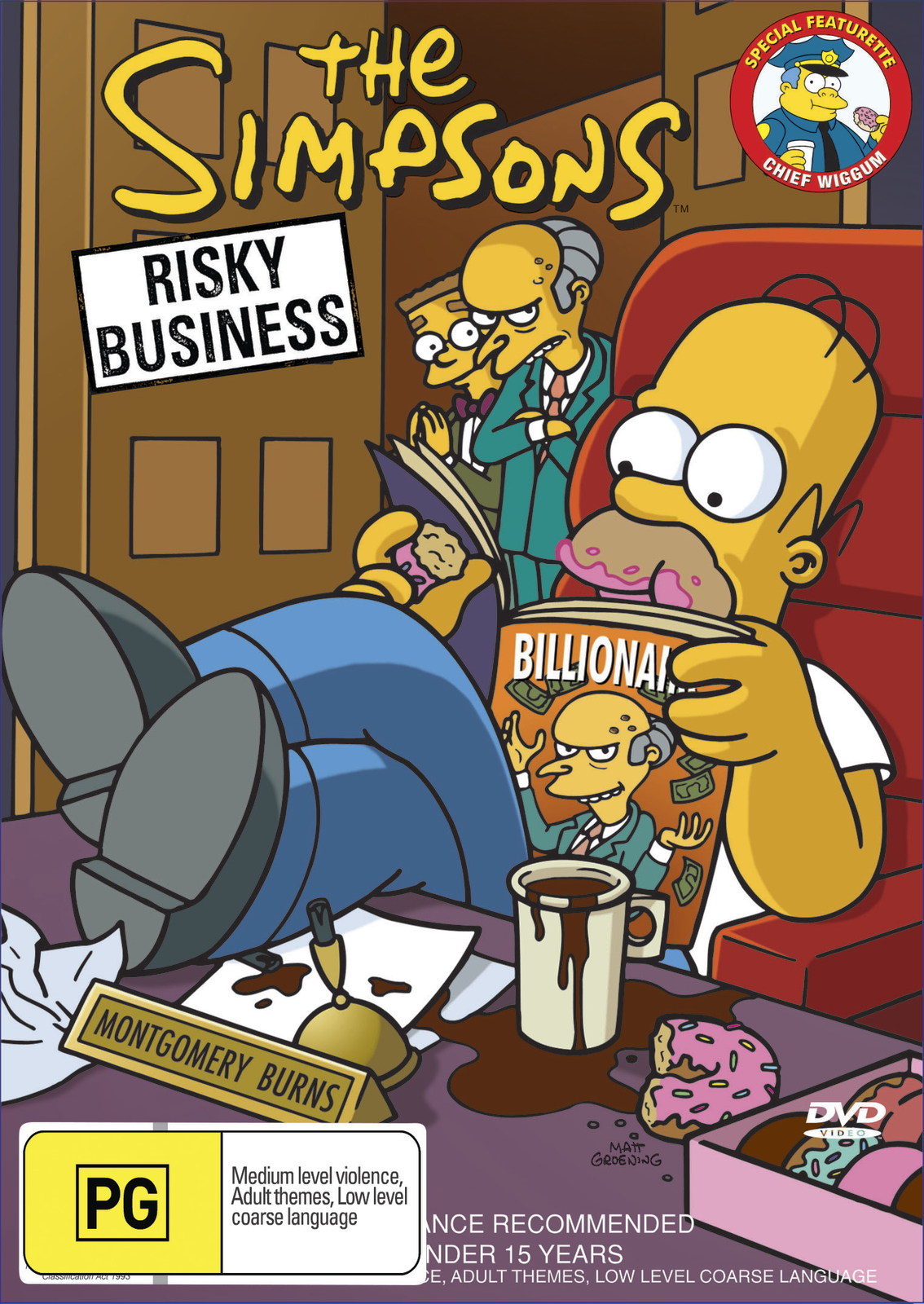 The Simpsons - Risky Business on DVD image