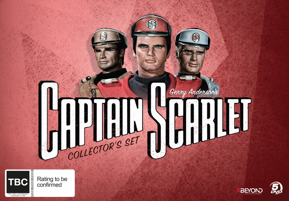 Captain Scarlet & The Mysterons Collector's Set on DVD image