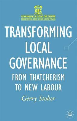 Transforming Local Governance by Gerry Stoker image