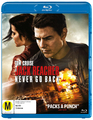 Jack Reacher 2: Never Go Back on Blu-ray