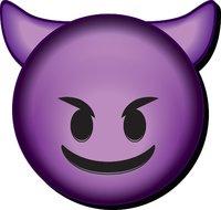 Emoji: Devil Funky Chunky Magnet