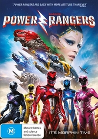 Saban's Power Rangers on DVD