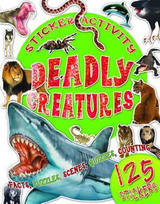 Sticker Activity Deadly Creatures
