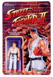 "Street Fighter II: Ryu - 3.75"" Retro Action Figure"
