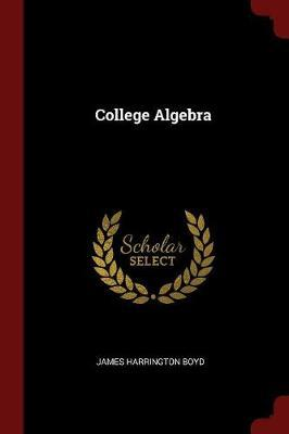 College Algebra by James Harrington Boyd image