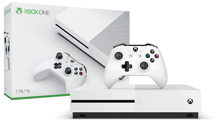 Xbox One S 1TB NBA 2K19 Console Bundle for Xbox One image