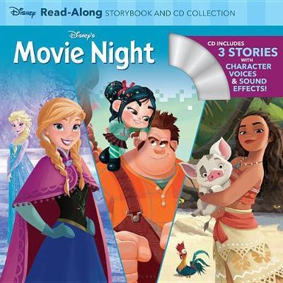 Disney's Movie Night Read-Along Storybook and CD Collection by Disney Book Group